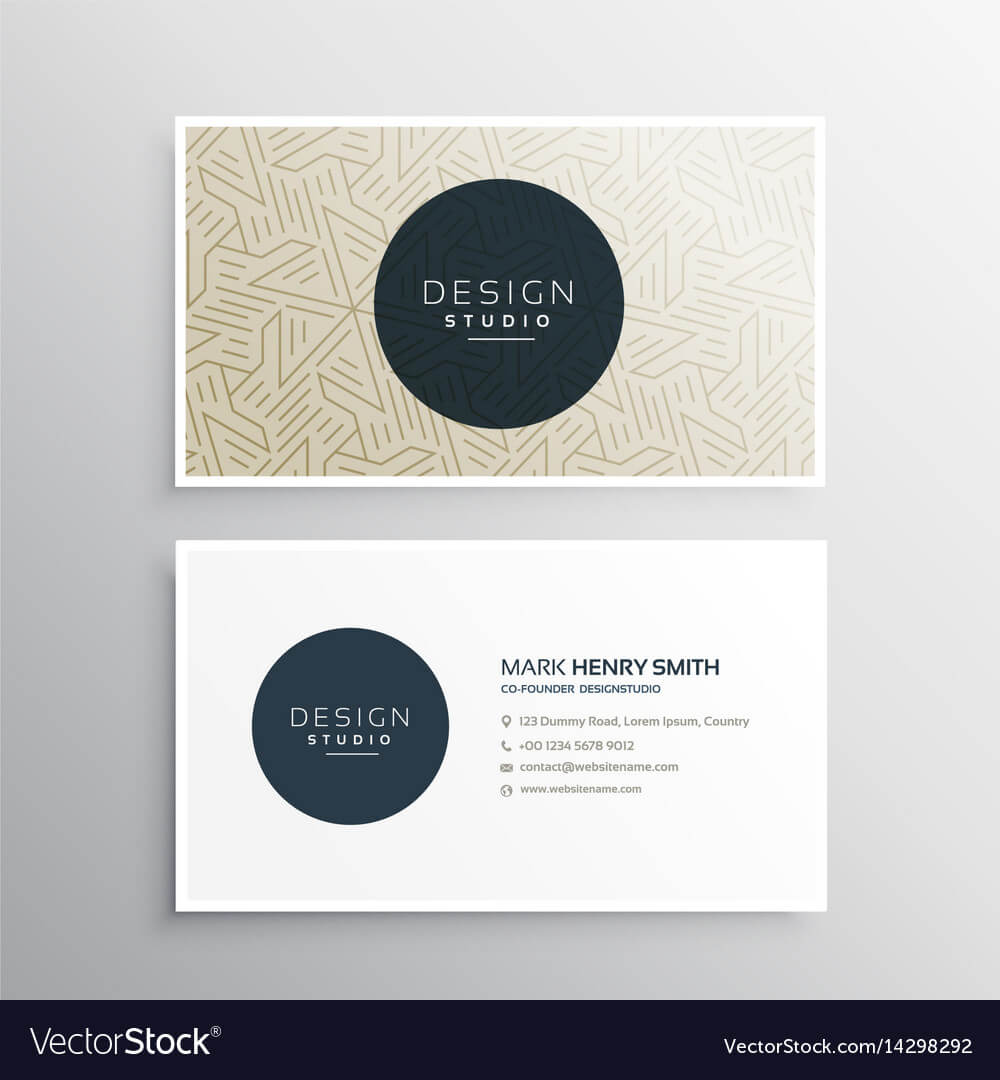 Elegrant Business Company Visiting Card Template Within Company Business Cards Templates