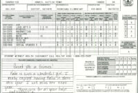 Elementary School Report Card Template | Report Card with Homeschool Report Card Template Middle School