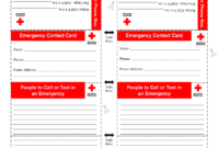 Emergency Contact Card Fillable – Fill Online, Printable regarding Emergency Contact Card Template