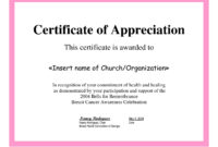 Employee Appreciation Certificate Template Free Recognition throughout Employee Anniversary Certificate Template