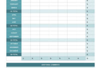 Employee Expense Report Template | 11+ Free Docs, Xlsx & Pdf for Expense Report Spreadsheet Template Excel