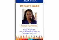 Employee Id Card Template | Locksmithcovington Template for Faculty Id Card Template