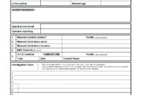 Employee Nt Report Form Pdf Hse Template Format For Safety in Health And Safety Incident Report Form Template