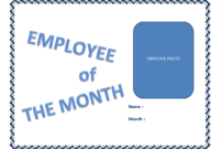 Employee Of The Month Certificate Template | Templates At regarding Landscape Certificate Templates