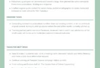 Employee Weekly Activity Report Template – Venngage in Monthly Activity Report Template