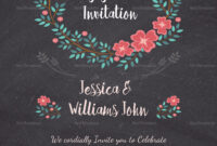 Engagement Invitation Card Template pertaining to Engagement Invitation Card Template
