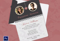 Engagement Invitation Cards Templates – Party Invitation regarding Engagement Invitation Card Template