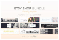 Etsy Shop Bundle – Web Elements – Etsy Banners – Etsy regarding Etsy Banner Template