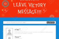 Event Banner Template – Leave Victory Message With Korean Flag with regard to Event Banner Template