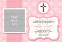 Examples-Of-Baptism-Invitations-In-Spanish | Christening in Blank Christening Invitation Templates