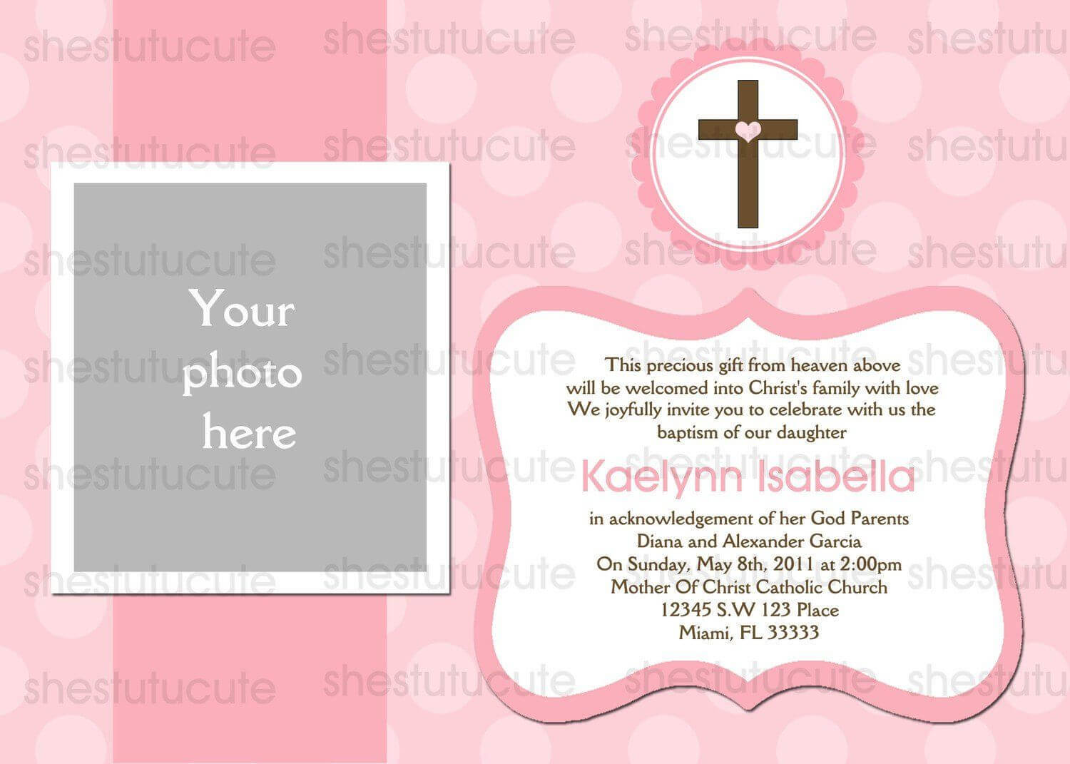 Examples-Of-Baptism-Invitations-In-Spanish   Christening in Blank Christening Invitation Templates