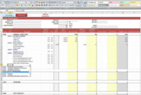 Excel Report Template | Template Business pertaining to Job Cost Report Template Excel