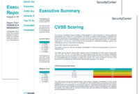 Executive Age Summary Report – Sc Report Template | Tenable® for Executive Summary Report Template