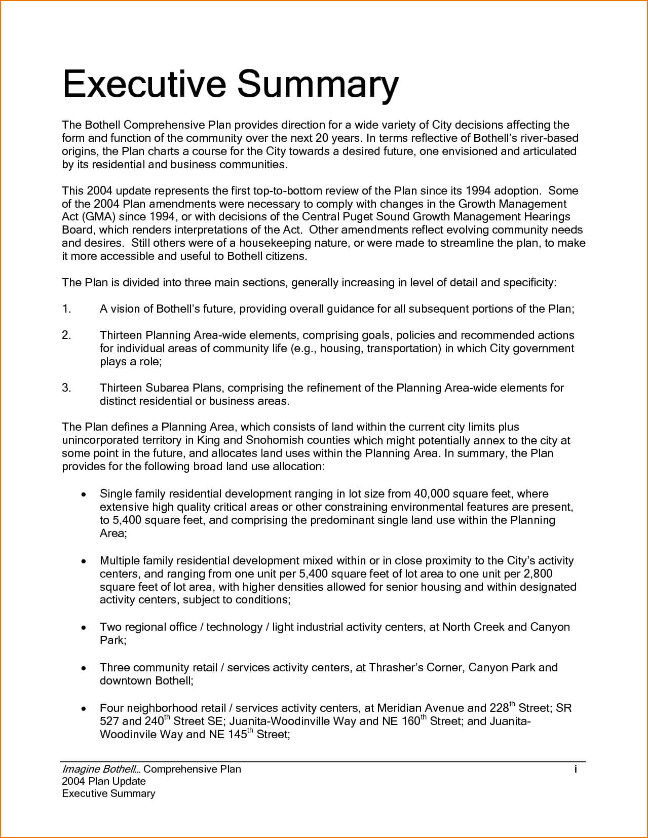 Executive Summary Example Incident Report Template Sample for How To Write A Work Report Template