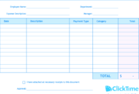 Expense Report Template | Track Expenses Easily In Excel regarding Company Expense Report Template