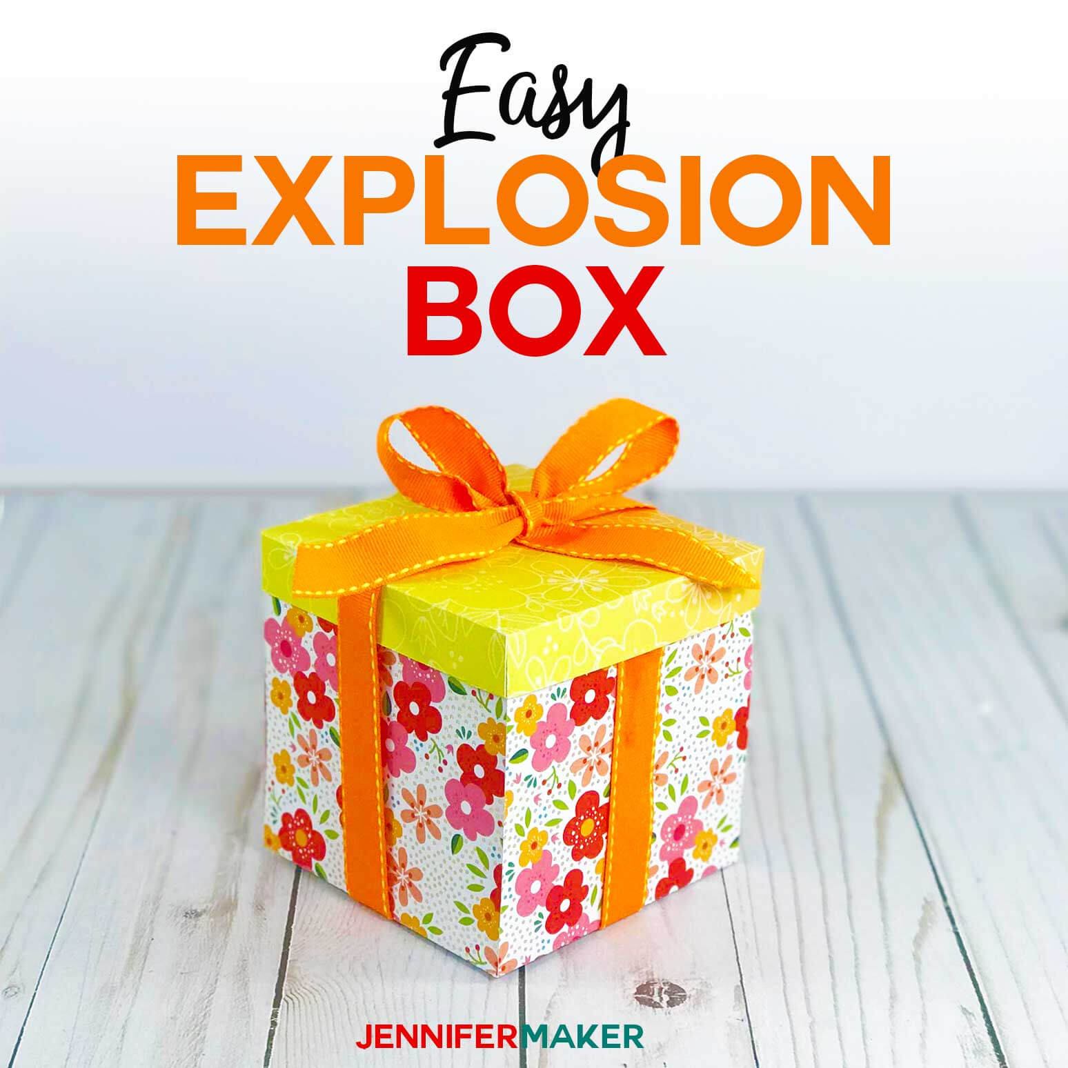 Explosion Box Card Tutorial: Endless Box - Free Svg File regarding Card Box Template Generator