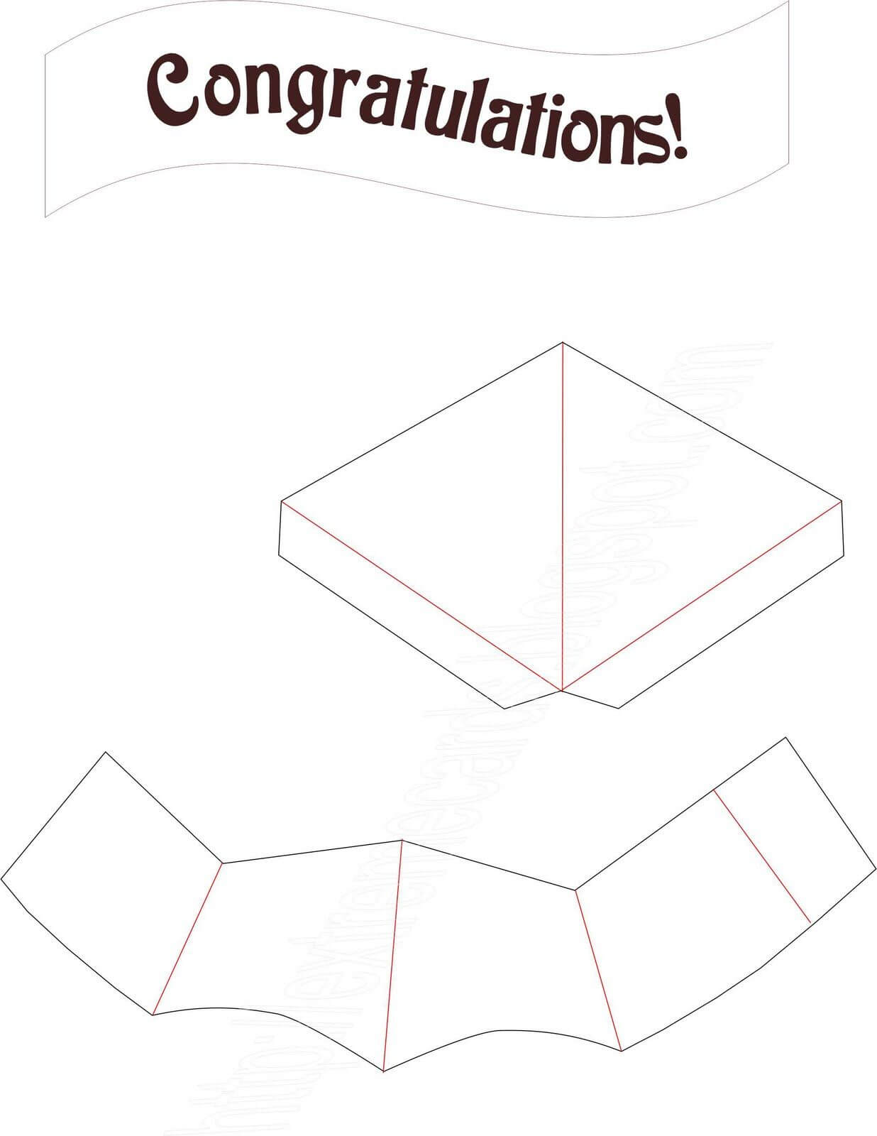 Extreme Cards And Papercrafting: Graduation Cap Pop Up Card Within Graduation Pop Up Card Template