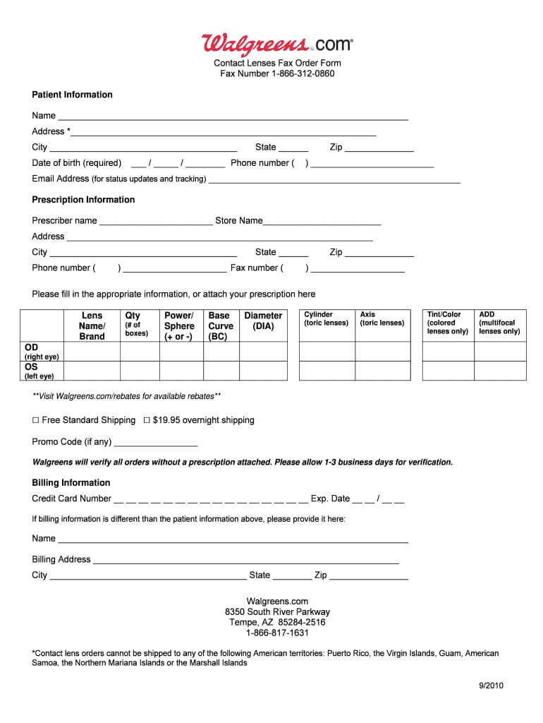 Eye Prescription Template – Fill Online, Printable, Fillable For Blank Prescription Form Template