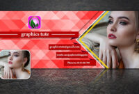 Facebook Cover Page Design In Photoshop – Very Easy Method – Free Psd  Template Download For Photoshop Facebook Banner Template