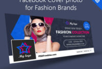 Facebook Cover Photo For Fashion Brands Free Psd for Facebook Banner Template Psd