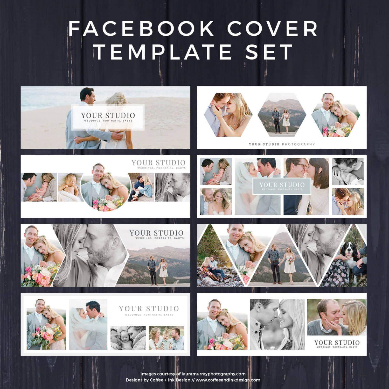 Facebook Template, Photography Marketing, Facebook Timeline Inside Photoshop Facebook Banner Template