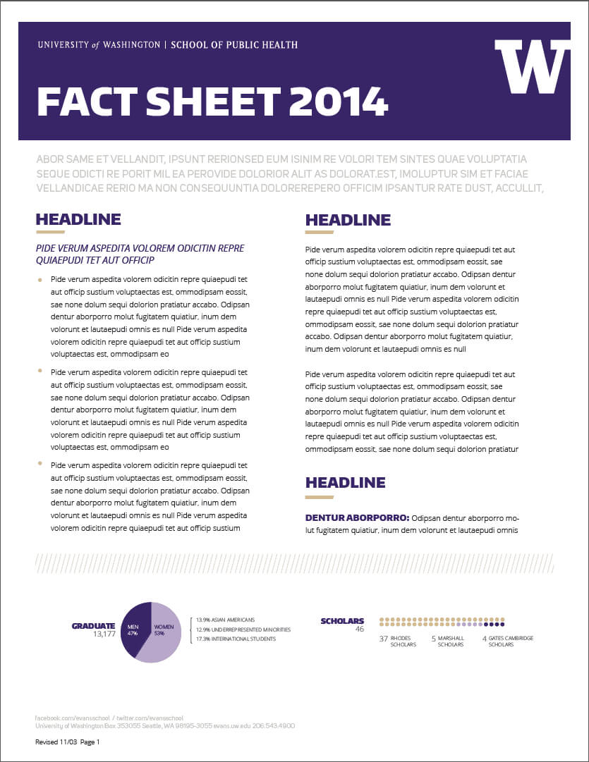 Fact Sheet Templates - Word Excel Samples regarding Fact Sheet Template Word