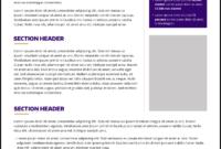 Fact Sheet | Uw Brand for Fact Sheet Template Word