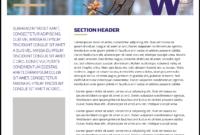 Fact Sheet | Uw Brand inside Fact Sheet Template Word