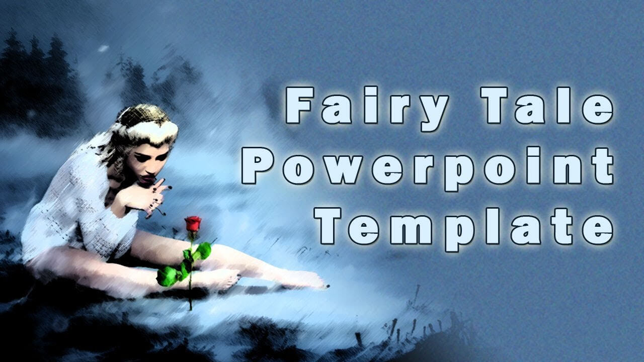 Fairy Tale Powerpoint Template With Clip Art Within Fairy Tale Powerpoint Template