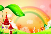 Fairy Tale Rainbow Children Background – Blog Bibleclipart with regard to Fairy Tale Powerpoint Template