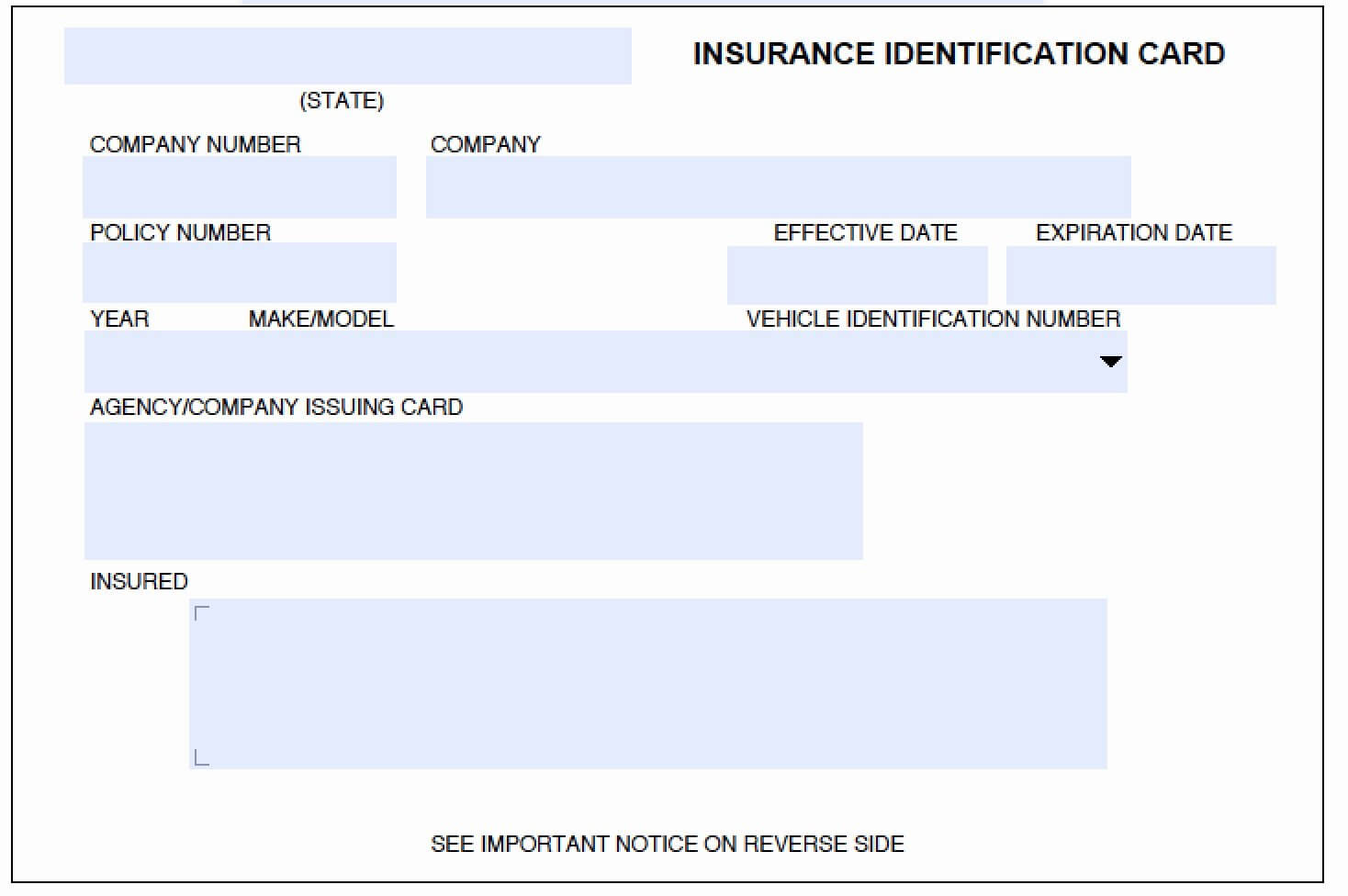Fake Car Insurance Card Template Luxury Download Auto In Proof Of Insurance Card Template