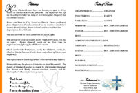 Fake Obituary Maker – Yupar.magdalene-Project in Free Obituary Template For Microsoft Word