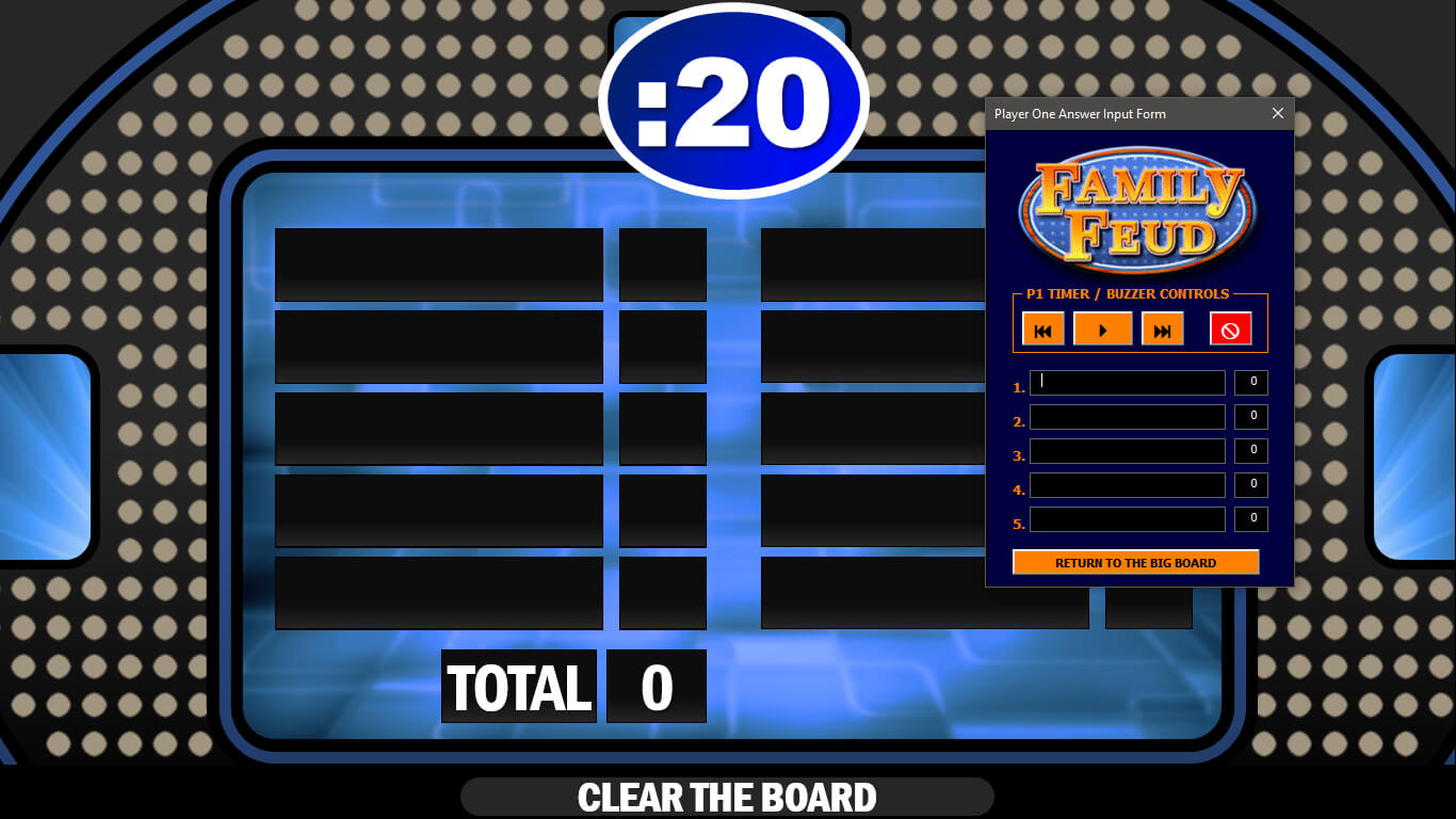 Family Feud | Rusnak Creative Free Powerpoint Games with regard to Family Feud Game Template Powerpoint Free