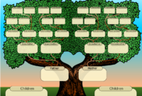 Family Tree Powerpoint Template Is A Free Template With for Powerpoint Genealogy Template