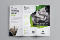 Fancy Business Tri-Fold Brochure Template 7 | Brochure with regard to Fancy Brochure Templates