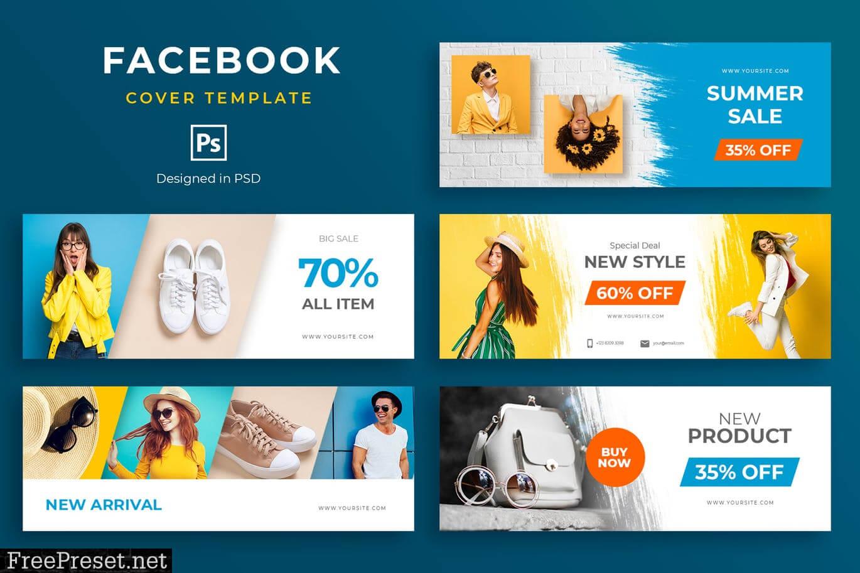 Fashion Facebook Cover Template Zcda63G - Jpg, Psd pertaining to Facebook Banner Template Psd