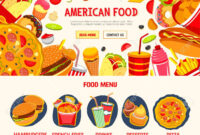 Fast Food Restaurant Menu Banner Template Throughout Food Banner Template