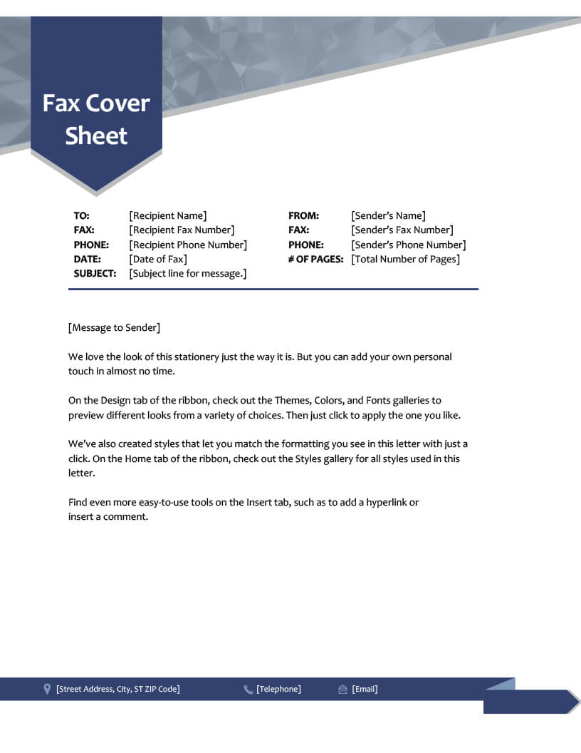 Fax Cover Sheet Template Word 2010 - Atlantaauctionco in Fax Cover Sheet Template Word 2010