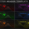 "Faze Nikan On Twitter: ""customizable Twitter Header Template Intended For Twitter Banner Template Psd"