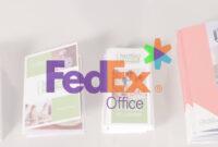 Fedex Office Brochures pertaining to Fedex Brochure Template