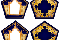 Filch's Office: Chocolate Frog for Chocolate Frog Card Template