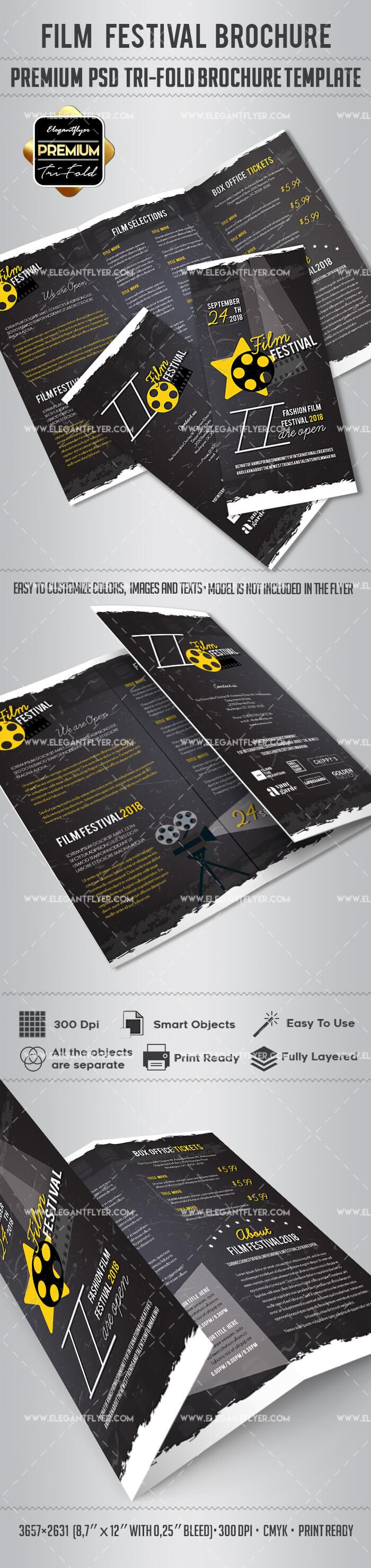 Film Festival Brochure Design Inside Film Festival Brochure Template
