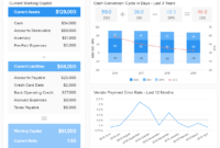 Financial Dashboards – Examples & Templates To Achieve Your With Liquidity Report Template