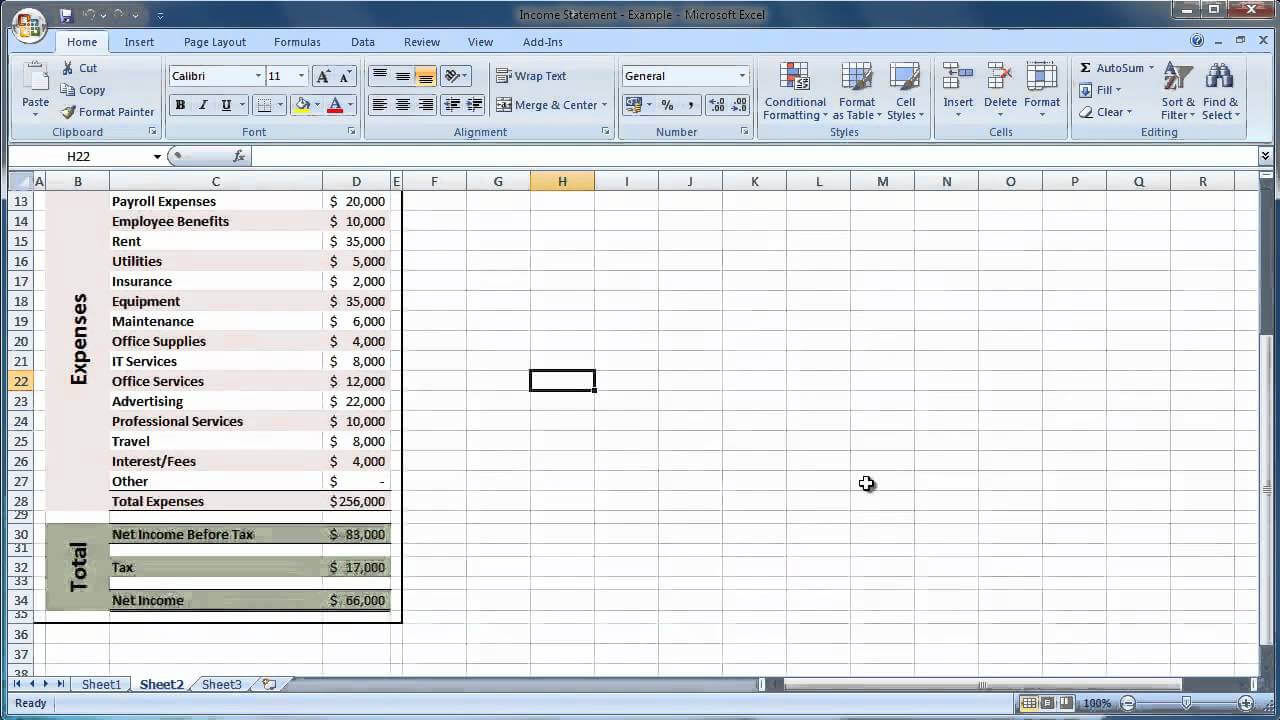 Financial Statement Template Xls | Saupimmel throughout Financial Reporting Templates In Excel