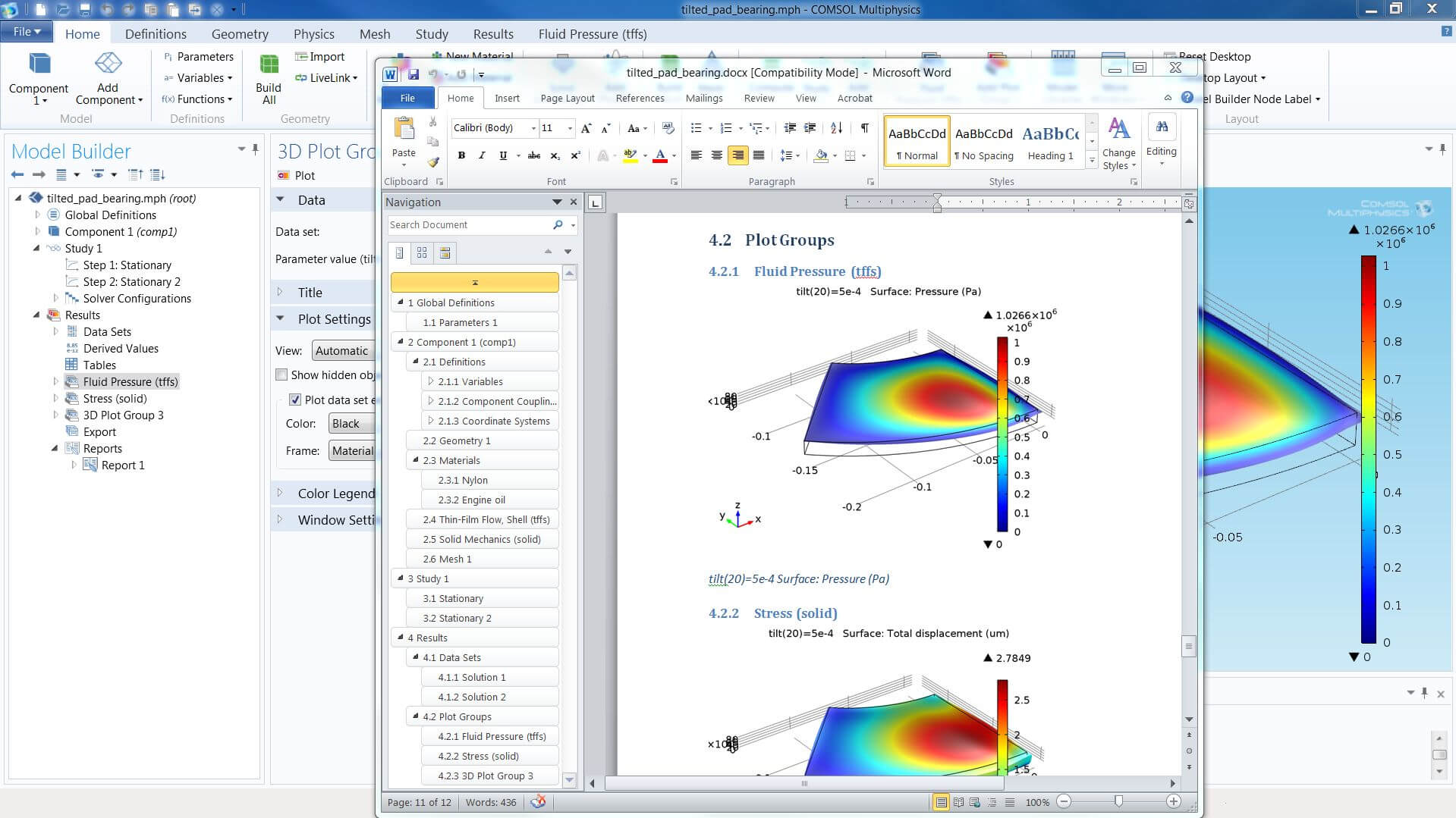 Finite Element Analysis Report Template | Glendale Community in Fea Report Template