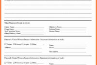 Fire Incident Report Form Doc Samples Format Sample Word throughout Investigation Report Template Doc