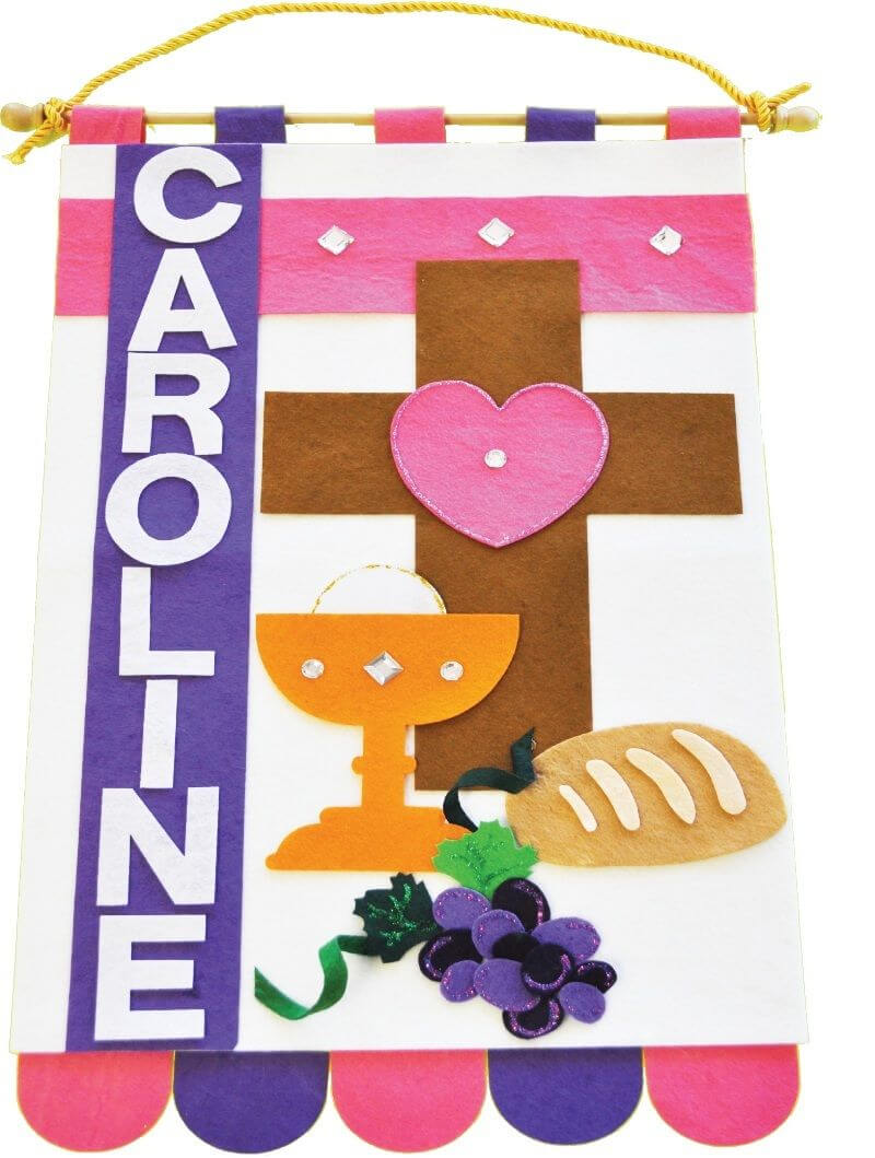 First Communion Banner Kits | First Communion Banner | First with regard to First Holy Communion Banner Templates