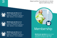 Fitness Membership Flyer Template within Membership Brochure Template