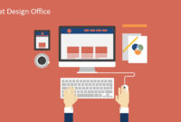 Flat Design Office Powerpoint Templates intended for Microsoft Office Powerpoint Background Templates