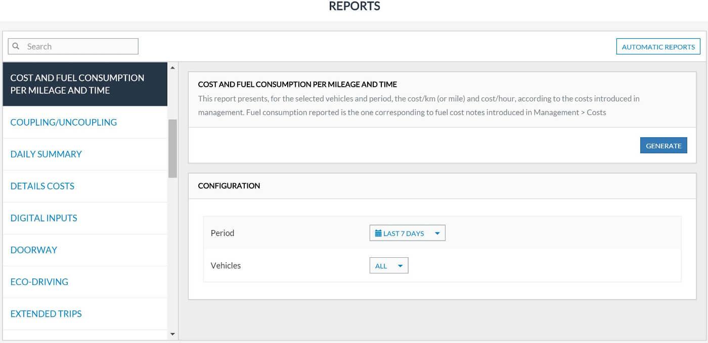 Fleet Management Reports - Frotcom for Fleet Management Report Template
